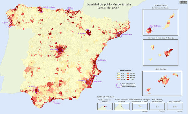 About Spain Spains Economic Development - Where is spain located